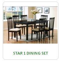 STAR 1 DINING SET